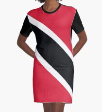 Trinidad and Tobago Graphic T-Shirt Dress