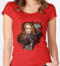 The Raven Witch Rayne Women's Fitted Scoop T-Shirt