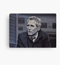 Paul Newman Painting Canvas Print