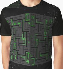 Star Trek - Travel Poster (Borg Collective) Graphic T-Shirt