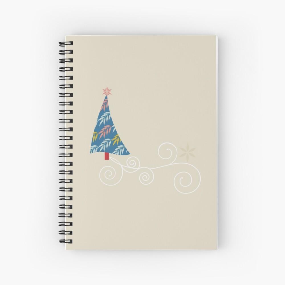 Happy Holidays! Spiral Notebook