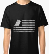 Indiana State United States Flag Vintage USA Classic T-Shirt