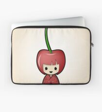 Cherry Kokeshi Doll Laptop Sleeve