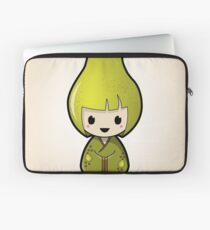 Pear Kokeshi Doll Laptop Sleeve
