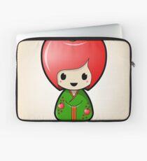 Apple Kokeshi Doll Laptop Sleeve