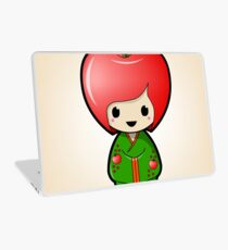 Apple Kokeshi Doll Laptop Skin