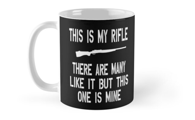 Full Metal Jacket Quote This Is My Rifle Mugs By Movie Shirts