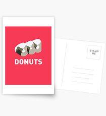 Jelly Donut Postcards