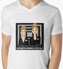 Romy & Michele - Business Women Men's V-Neck T-Shirt