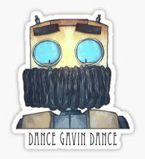Dance Gavin Dance Character (W/ Text) Sticker