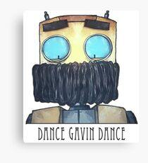Dance Gavin Dance Character (W/ Text) Canvas Print