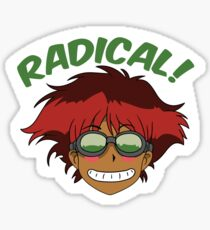 Radical Edward Sticker