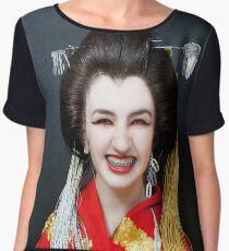 Kimono My House Women's Chiffon Top