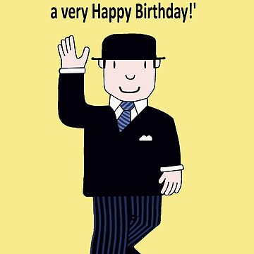 Mr Benn 'Birthday' by Grainwavez