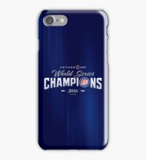 Chicago Cubs Champions 2 iPhone Case/Skin