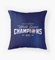 Chicago Cubs Champions 2 Throw Pillow