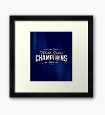Chicago Cubs Champions 2 Framed Print