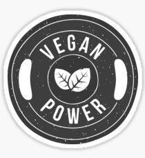 Vegan power Sticker