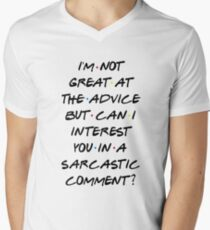 CAN I INTEREST YOU IN A SARCASTIC COMMENT? Men's V-Neck T-Shirt