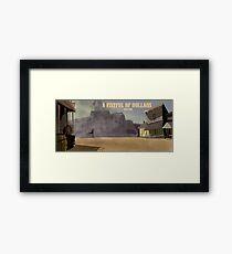A Fistful of Dollars- Fan Poster Framed Print
