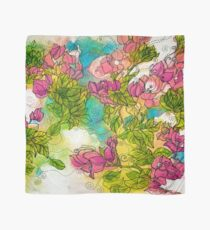 Tropical Flowers Scarf