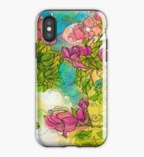 Tropical Flowers iPhone Case