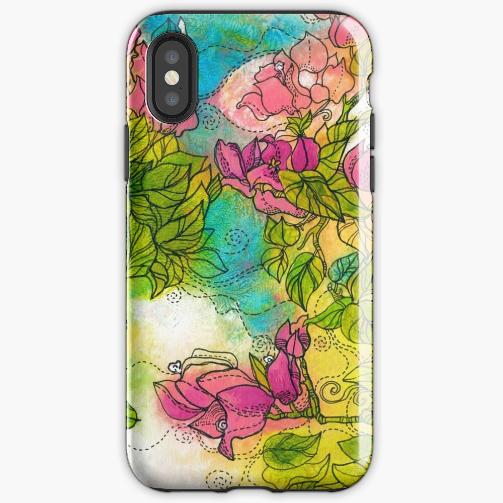 Tropical Flowers iPhone Case & Cover