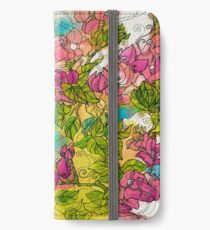 Tropical Flowers iPhone Wallet/Case/Skin