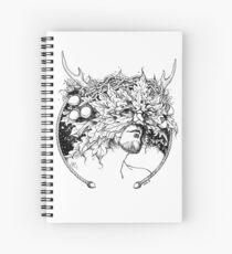 Greenman Spiral Notebook