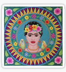 Fabulous Frida Mandala Sticker