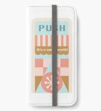 Small World Trash Can Design iPhone Wallet/Case/Skin