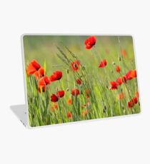 Poppy plantation Laptop Skin