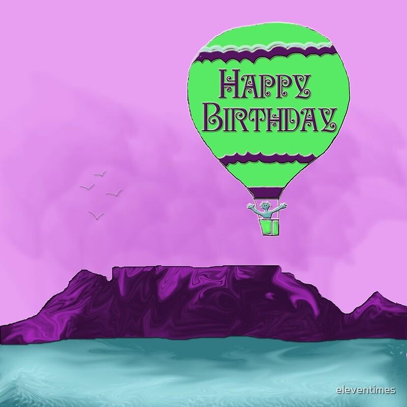 Birthday Table Mountain