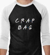 CRAP BAG Men's Baseball ¾ T-Shirt