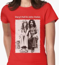 DARYL HALL & JOHN OATES Womens Fitted T-Shirt