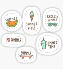 Summer vibes Sticker