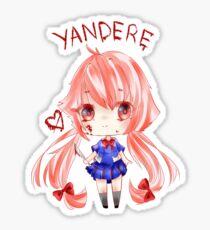 Yuno Gasai; Yandere Sticker