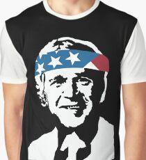 President George W Bush American Patriot Vintage Graphic T-Shirt