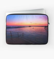 Fire and Water - Dee Why Baths Dawn Laptop Sleeve