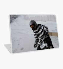 Speedy Zebra Laptop Skin