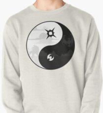 Sun and Moon Yin and Yang Pullover
