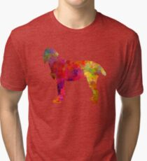 Pudelpointer in watercolor Tri-blend T-Shirt
