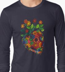 Blooming Heart #1 Long Sleeve T-Shirt