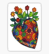 Blooming Heart #1 Sticker
