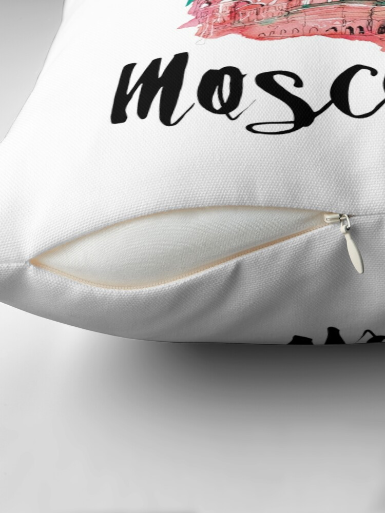 Alternate view of Moscow Throw Pillow