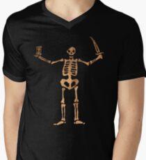 Black Sails - Rusty Skeleton  Men's V-Neck T-Shirt