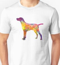 Hungarian Shorthaired Pointer in watercolor T-Shirt
