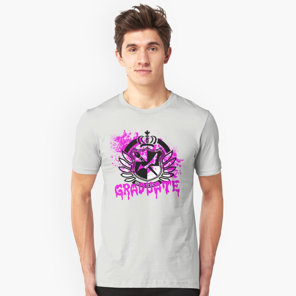 DanganRonpa - Graduate of Hope's Peak Unisex T-Shirt Front