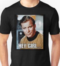 Hey girl... Sexy Kirk Unisex T-Shirt