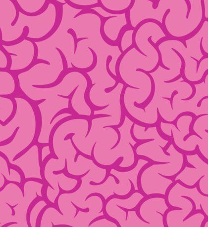 Pink guts pattern Sticker